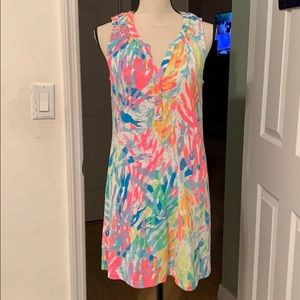 Lilly Pulitzer Essie dress multi sparking sands
